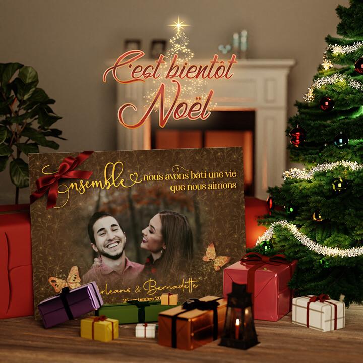 Toile Cadeau Un amour joyeux
