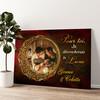Le Soleil & la Lune Murale personnalisée