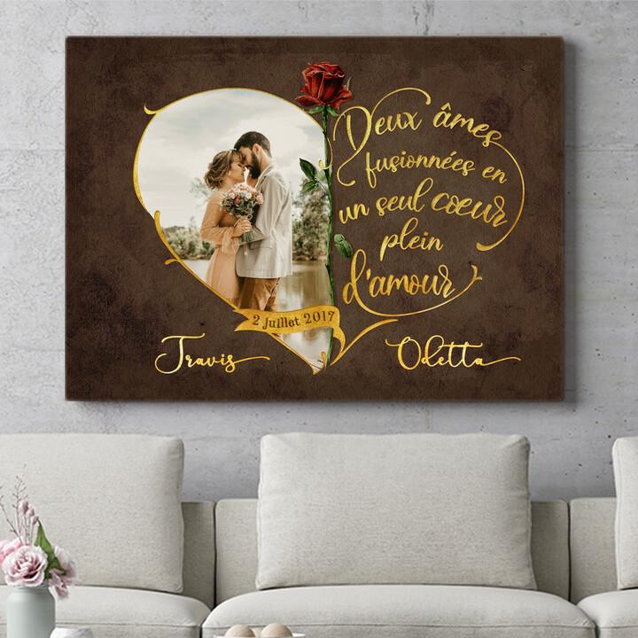 Cadeau personnalisé Amour inséparable