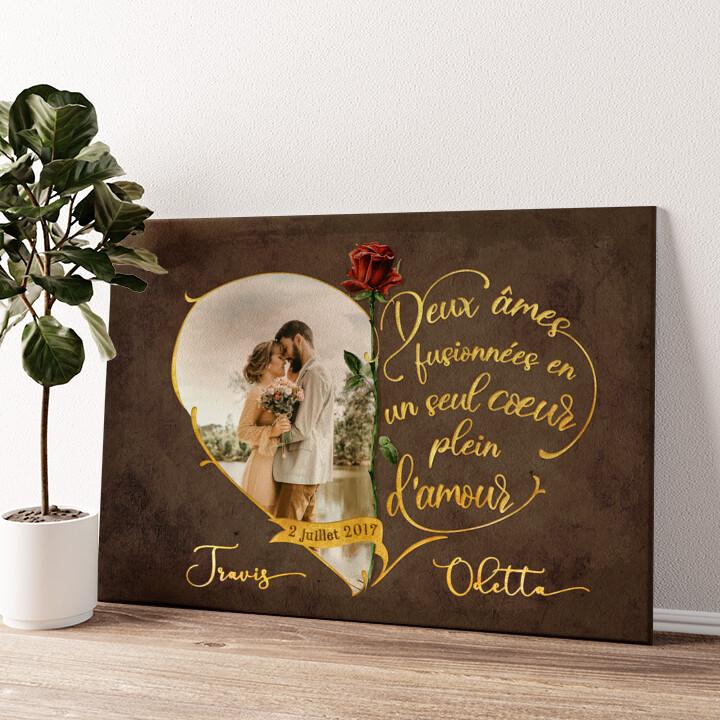Amour inséparable Murale personnalisée