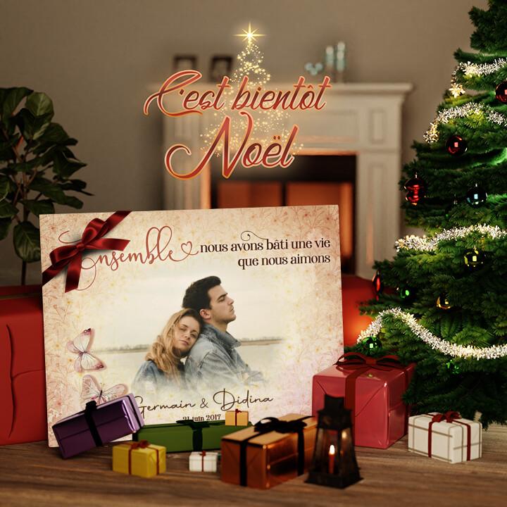 Toile Cadeau Nous aimons la vie