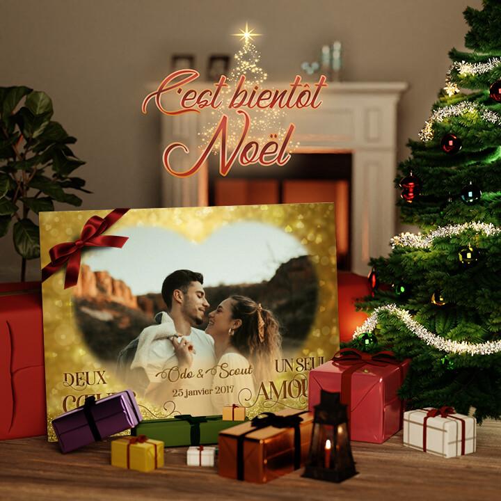 Toile Cadeau Notre grand amour