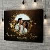 Impression sur toile personnalisée Miroir de l'amour