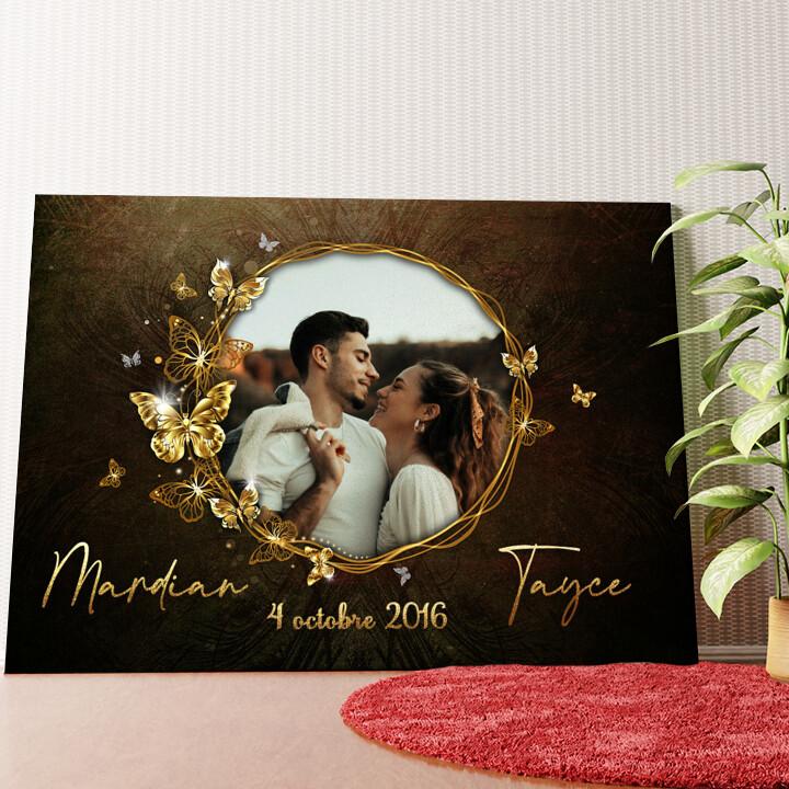 Murale personnalisée Miroir de l'amour
