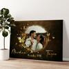 Miroir de l'amour Murale personnalisée