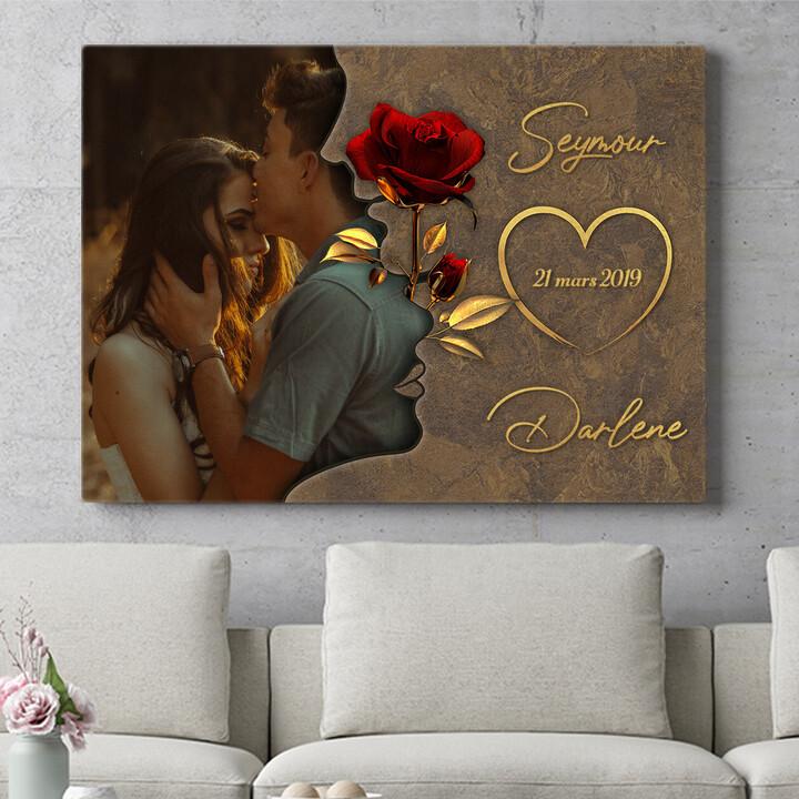 Cadeau personnalisé Chuchotements d'amour