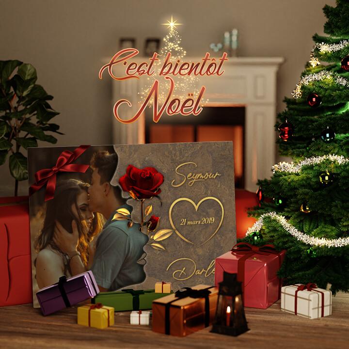 Toile Cadeau Chuchotements d'amour