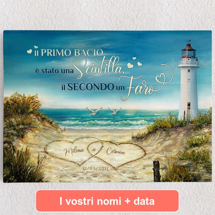 Tele personalizzate Faro d'amore