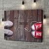 Stampa personalizzata su tela Sneakers