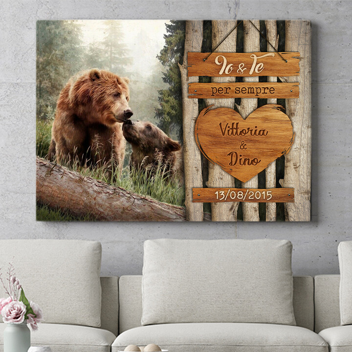 Regalo personalizzato Amore di Orso