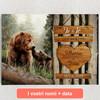 Tele personalizzate Amore di Orso