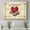 Regalo personalizzato Mani dell'amore