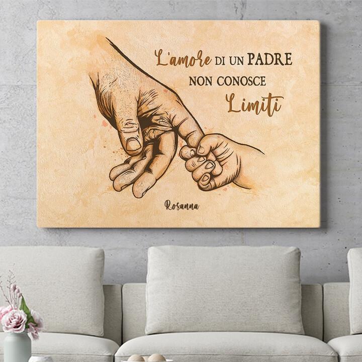 Regalo personalizzato Amore di un padre