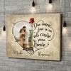 Stampa personalizzata su tela Cuore pieno d'amore
