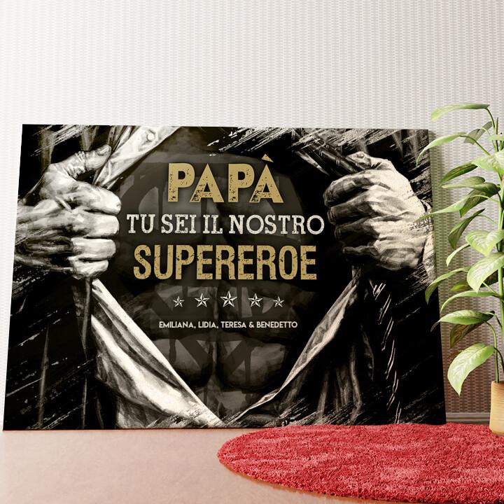Tela personalizzata Supereroe