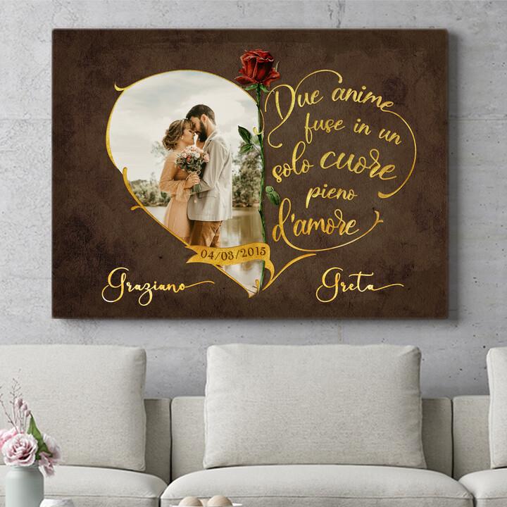 Regalo personalizzato Amore inseparabile