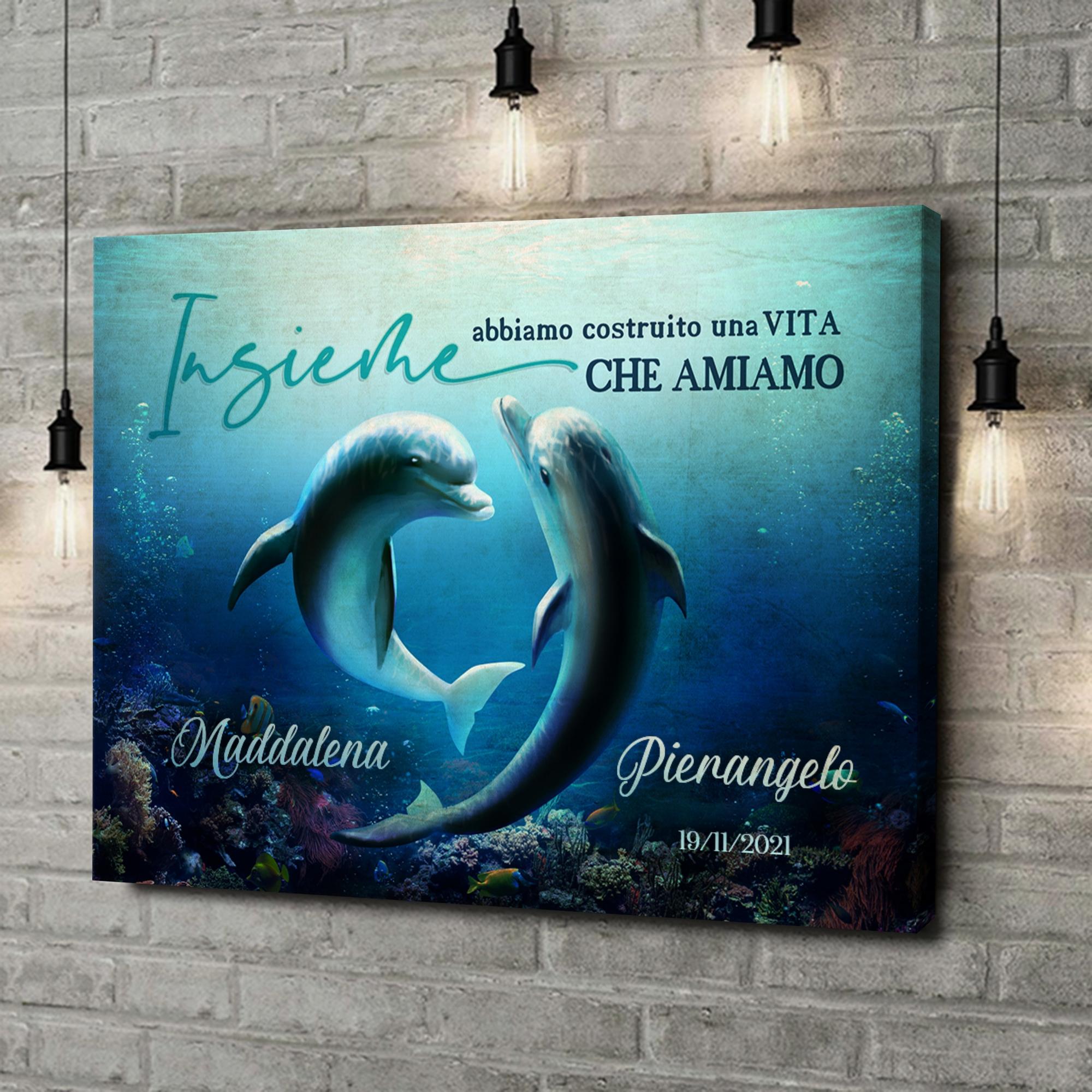 Stampa personalizzata su tela Oceano d'amore