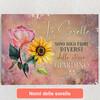 Tele personalizzate Sorelle dei fiori