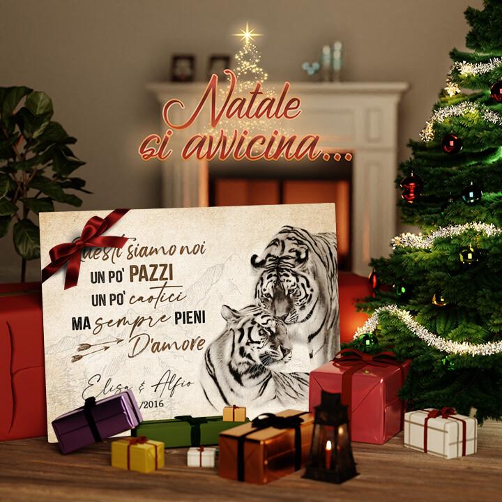 Tela Regalo Amore Tigre
