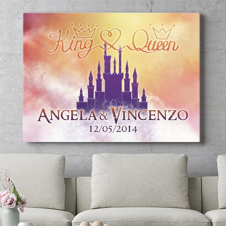 Regalo personalizzato Castello dei sogni