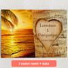 Tele personalizzate Amore immortalato