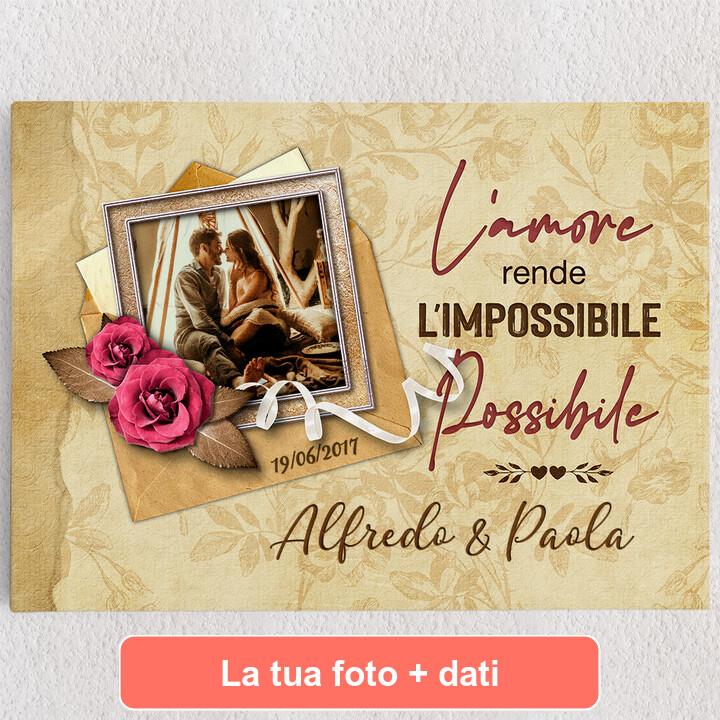 Tele personalizzate L'impossibile diventa possibile