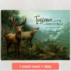 Tele personalizzate Cervo innamorato