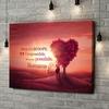 Stampa personalizzata su tela Albero dell'amore