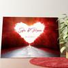 Tela personalizzata Strada dell'amore