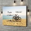 Stampa personalizzata su tela Momenti di ciclismo