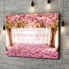 Stampa personalizzata su tela Tunnel Rosa