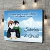 Stampa personalizzata su tela Pinguini