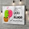 Stampa personalizzata su tela Palloncini Cactus