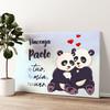 Panda Tela personalizzata