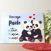 Tela personalizzata Panda