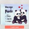 Tele personalizzate Panda