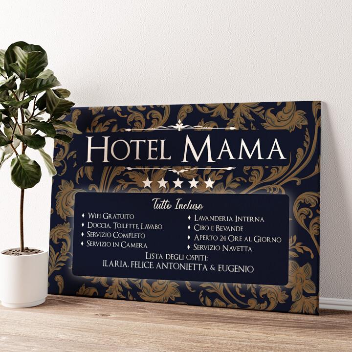 Hotel Mamma Tela personalizzata