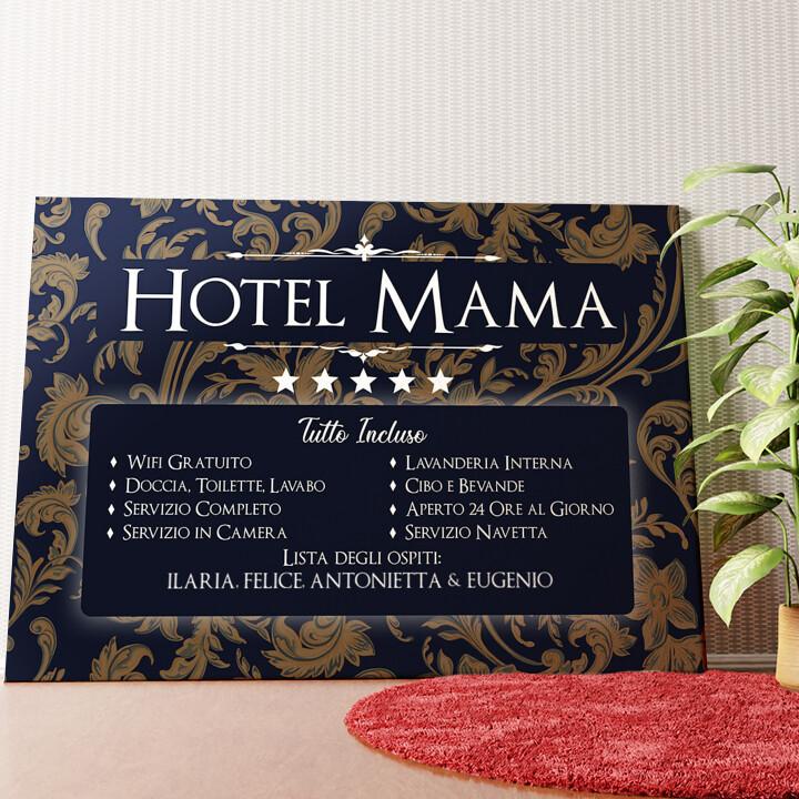 Tela personalizzata Hotel Mamma