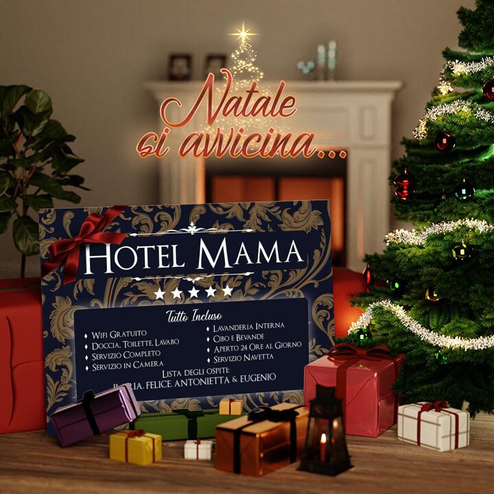 Tela Regalo Hotel Mamma