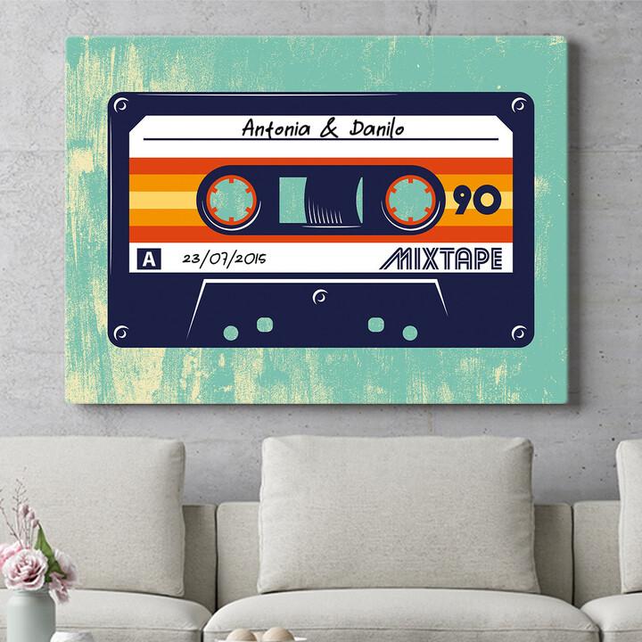 Regalo personalizzato Mixtape