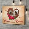 Stampa personalizzata su tela Il nostro lato di cioccolato