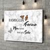 Stampa personalizzata su tela Farfalla