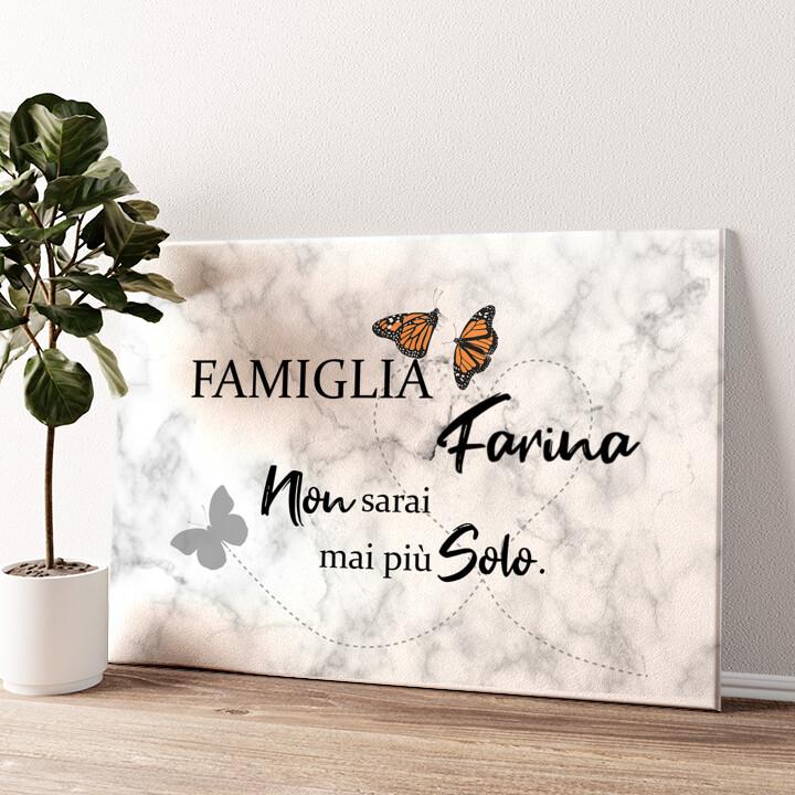 Farfalla Tela personalizzata