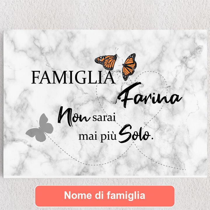 Tele personalizzate Farfalla