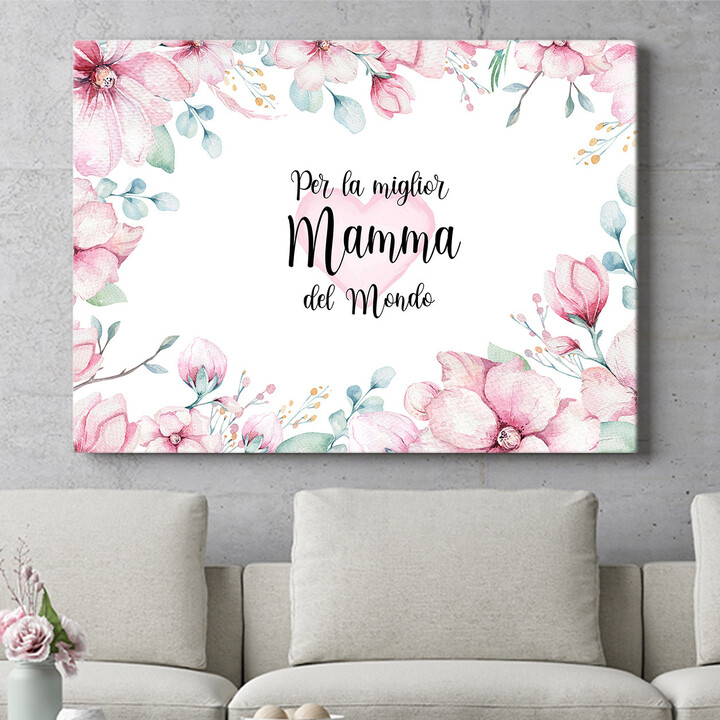 Regalo personalizzato Cara Mamma