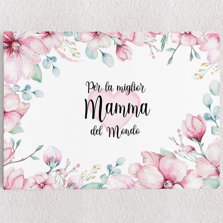 Tele personalizzate Cara Mamma
