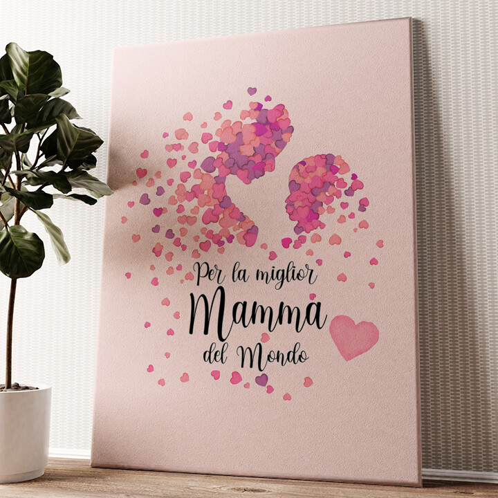 Amore Materno Tela personalizzata