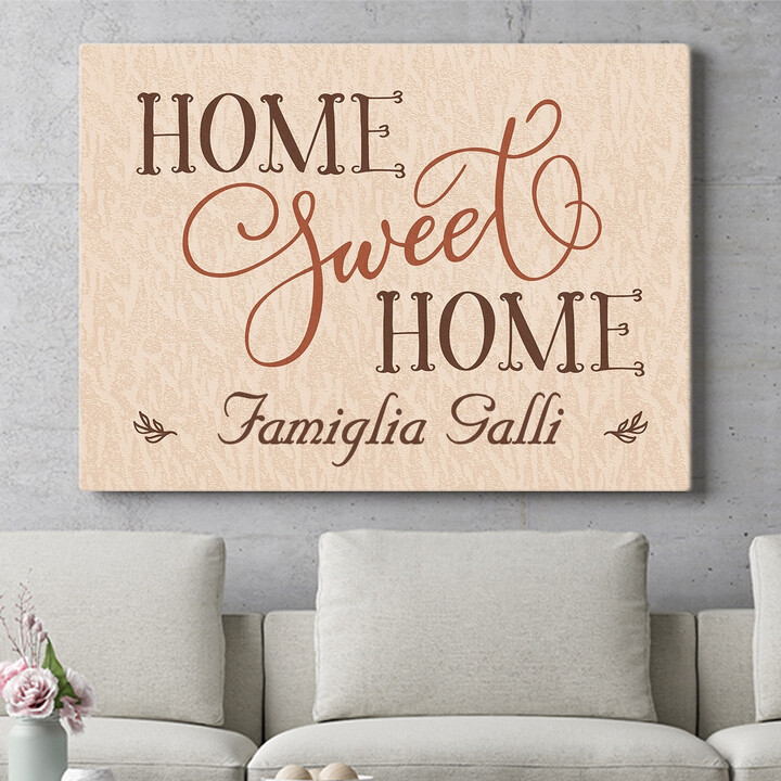 Regalo personalizzato Casa dolce casa