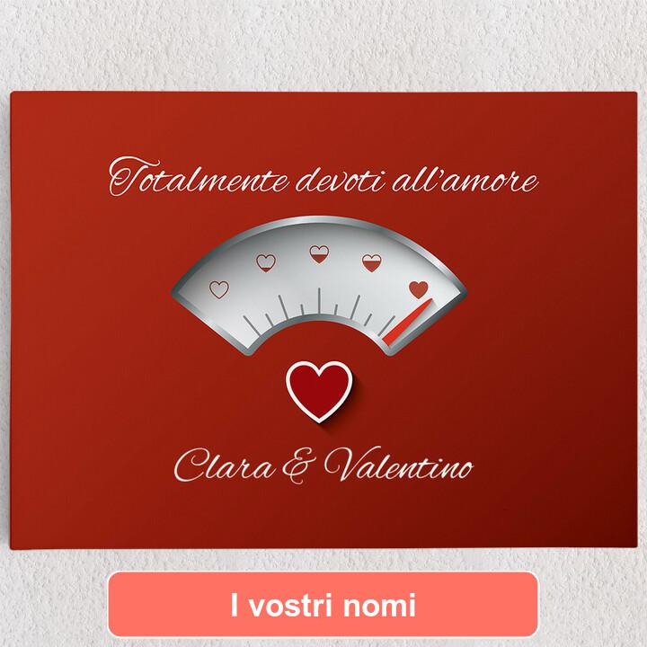Tele personalizzate 100% Amore