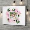 Stampa personalizzata su tela Sfondo: decorazioni floreali